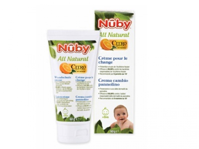 CREMA CAMBIO PANNOLINO NUBY ALL NATURAL