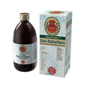 DECOTTOPATIA  LINO - RABARBARO 500 ML