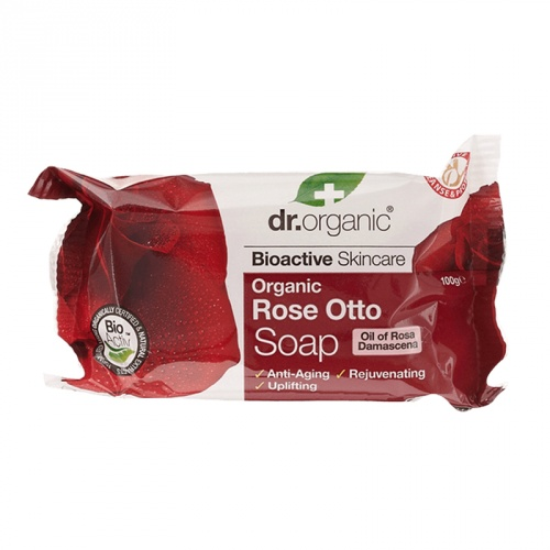 DR ORGANIC ROSE OTTO SOAP 100G