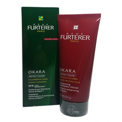 FURTERER OKARA PROTECT COLOR SHAMPOO SUBLIMATORE LUMINOSITA'