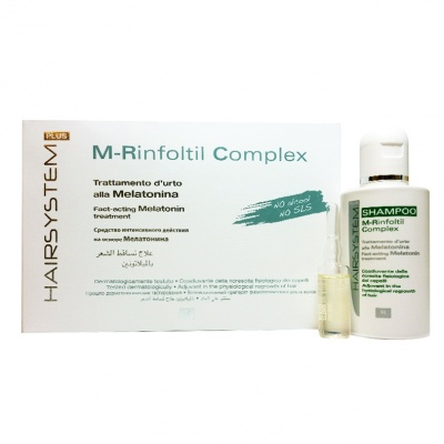 HAIRSYSTEM PLUS SHAMPOO M-RINFOLTIL COMPLEX