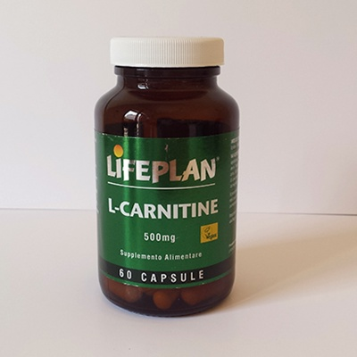 L - CARNITINE 500 MG LIFEPLAN