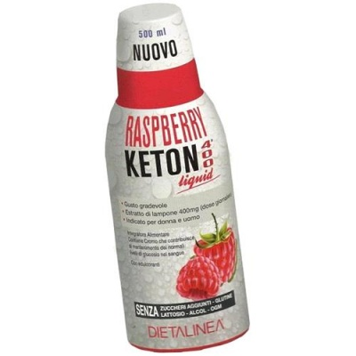 RASPBERRY KETON 400 LIQUID DIETALINEA 500 ML