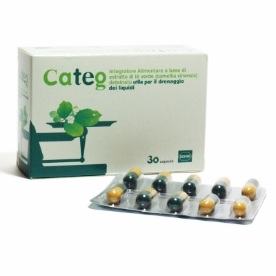 SOFAR CATEG ESTRATTO THE VERDE 30 CAPSULE