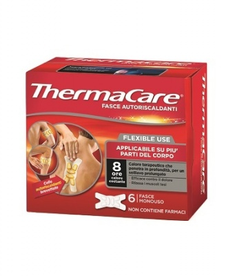 THERMACARE 6  FASCE AUTORISCALDANTI  FLEXIBLE