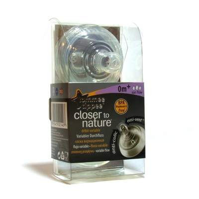 TOMMEE TIPPEE CLOSER TO NATURE TETTARELLA FLUSSO VARIABILE 2PZ
